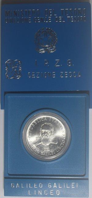 obverse: Repubblica Italiana. 500 Lire 1982 Galileo. Ag.