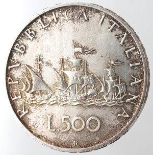 reverse: Repubblica Italiana. 500 Lire 1996. Ag.