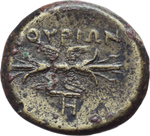 Reverse image of coin 12010