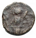 R/ Impero Romano - Valentiniano III. 425-455. Ae. Zecca incerta. d/ Busto a ds r/ Vittoria a sn. gr 0,83. mm 9,8. BB. Raro