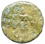 R/ Provincia Romana.Claudio .41-54 d.C.Bronzo coloniane.D\ testa di Claudio a destra.R\ Divinità verso sinistra nel campo N.Peso 2,55 gr.Diametro 15,00 mm.BB