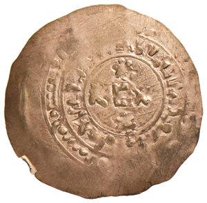 reverse: Amalfi. Tancredi (1189-1194). Tarì AV gr. 0,85. CNI 10. MEC14, 454. Travaini 1995, 394. D'Andrea Normanni, 374. MIR 34. Rarissimo. SPL