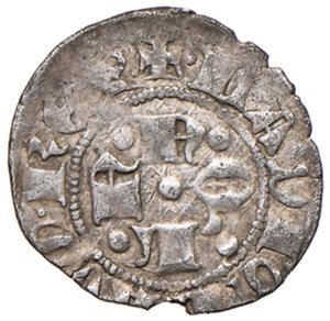 obverse: (L ) Aquila. Ladislao di Durazzo (1388-1414). Bolognino AG gr. 0,80. MEC14, 734 (1404-1414). D.A. 19 var. MIR 54. Più di BB