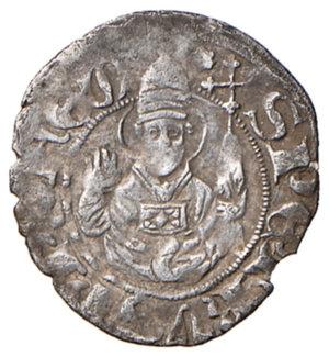 reverse: (L ) Aquila. Ladislao di Durazzo (1388-1414). Bolognino AG gr. 0,80. MEC14, 734 (1404-1414). D.A. 19 var. MIR 54. Più di BB