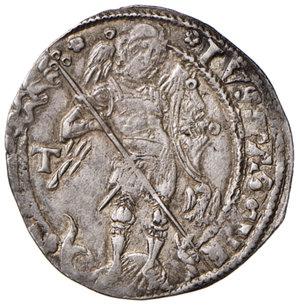 reverse: (L ) Aquila. Ferdinando I d'Aragona (1458-1494). Coronato AG gr. 3,95. MEC14, 1011 var. D.A. 83. MIR 89. Vall-Llosera i Tarres 147c. Raro. BB