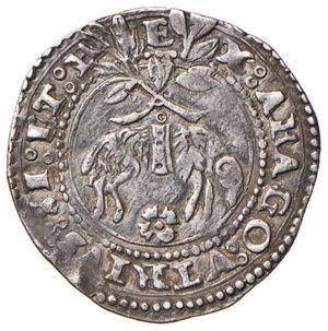 reverse: (L ) Aquila. Carlo V d'Asburgo (1519-1556). Carlino AG gr. 3,10. D.A. 151. MIR 120 (questo esemplare illustrato). Migliore di BB