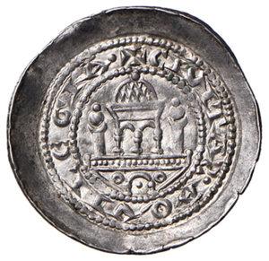 reverse: Aquileia. Volchero (1204-1218). Denaro AG gr. 1,22. Bernardi 11. MEC12, –. Rarissimo e in stato di conservazione eccezionale, q.FDC