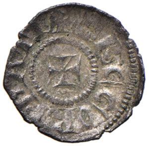 obverse: Aquileia. Gregorio di Montelongo (1251-1269). Piccolo MI gr. 0,44. Bernardi 23. MEC12, 843. Molto raro. q.SPL