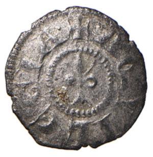 reverse: Aquileia. Gregorio di Montelongo (1251-1269). Piccolo MI gr. 0,44. Bernardi 23. MEC12, 843. Molto raro. q.SPL
