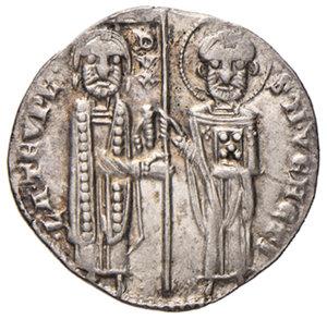Venezia. Lorenzo Tiepolo (1268-1275). Grosso o matapan AG gr. 2,13. Paolucci 1. SPL