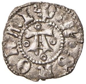 obverse: Ascoli. Francesco Sforza (1433-1445). Bolognino AG gr. 1,05. CNI 3 var. Mazza 76. Raro. Con cartellino di antica collezione. Conservazione notevolissima per il tipo, più di SPL