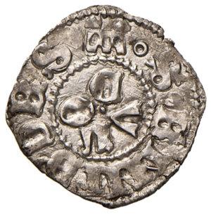 reverse: Ascoli. Francesco Sforza (1433-1445). Bolognino AG gr. 1,05. CNI 3 var. Mazza 76. Raro. Con cartellino di antica collezione. Conservazione notevolissima per il tipo, più di SPL