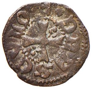 reverse: Ascoli. Francesco Sforza (1433-1445). Picciolo MI gr. 0,47. CNI 13 var. Mazza 81. Molto raro. BB