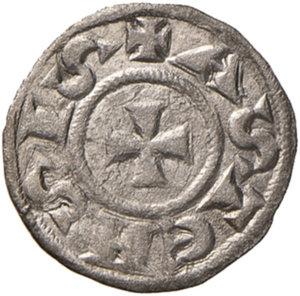 obverse: Asti. Comune (1140-1336). Denaro MI gr. 0,70. CNI 3/9. MIR 34. BB-SPL