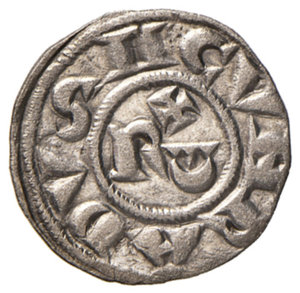 reverse: Asti. Comune (1140-1336). Denaro MI gr. 0,70. CNI 3/9. MIR 34. BB-SPL