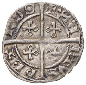 reverse: Avignone. Innocenzo VI (1352-1362). Mezzo grosso AG gr. 1,60. PdA 4160. Muntoni 3. Berman 192. MIR 207/1. Rarissimo. q.SPL