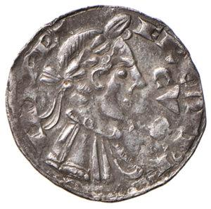 obverse: Bergamo. Comune (secc. XIII-XIV). Emissioni a nome di Federico II. Grosso da 4 denari AG gr. 1,13. CNI 130. MIR 17. Raro. Buon BB