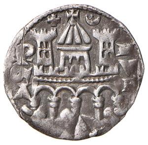 reverse: Bergamo. Comune (secc. XIII-XIV). Emissioni a nome di Federico II. Grosso da 4 denari AG gr. 1,13. CNI 130. MIR 17. Raro. Buon BB