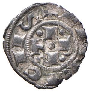obverse: Bologna. Comune. Emissioni a nome di Enrico VI (1191-1337). Bolognino piccolo MI gr. 0,44. Chimienti 8. Raro. Più di BB