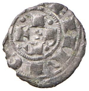 obverse: Bologna. Comune. Emissioni a nome di Enrico VI (1191-1337). Bolognino piccolo MI gr. 0,43. Chimienti 9. Raro. BB