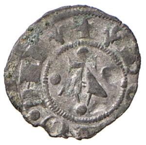 reverse: Bologna. Comune. Emissioni a nome di Enrico VI (1191-1337). Bolognino piccolo MI gr. 0,43. Chimienti 9. Raro. BB