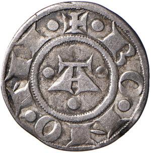 reverse: Bologna. Comune. Emissioni a nome di Enrico VI (1191-1337). Bolognino AG gr. 1,33. Chimienti 17. BB