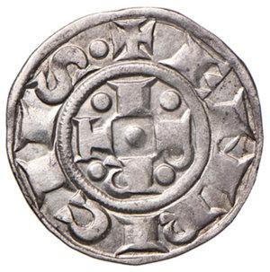 obverse: Bologna. Comune. Emissioni a nome di Enrico VI (1191-1337). Bolognino AG gr. 1,44. Chimienti 20. Ex asta Artemide XLV/2016, 528. Più di BB