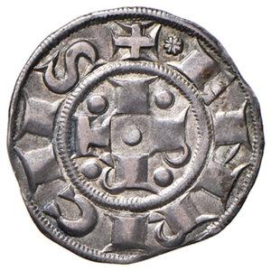 obverse: Bologna. Comune. Emissioni a nome di Enrico VI (1191-1337). Bolognino AG gr. 1,48. Chimienti 29 (stella a 8 punte di II tipo). Patina di medagliere, q.SPL