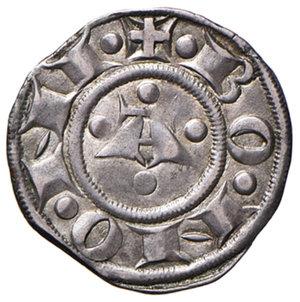 reverse: Bologna. Comune. Emissioni a nome di Enrico VI (1191-1337). Bolognino AG gr. 1,48. Chimienti 29 (stella a 8 punte di II tipo). Patina di medagliere, q.SPL