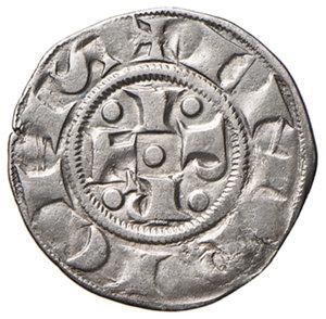obverse: Bologna. Comune. Emissioni a nome di Enrico VI (1191-1337). Bolognino AG gr. 1,37. Chimienti 33 (stella a 5 o 6 punti di IV tipo). Molto raro. Migliore di BB