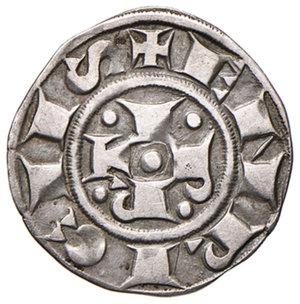obverse: Bologna. Comune. Emissioni a nome di Enrico VI (1191-1337). Bolognino AG gr. 1,41. Chimienti 35. BB