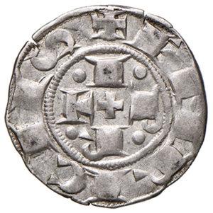 obverse: Bologna. Comune. Emissioni a nome di Enrico VI (1191-1337). Bolognino AG gr. 1,49. Chimienti 45 (giglio). q.SPL