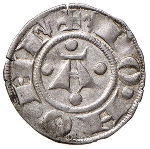 reverse: Bologna. Comune. Emissioni a nome di Enrico VI (1191-1337). Bolognino AG gr. 1,49. Chimienti 45 (giglio). q.SPL