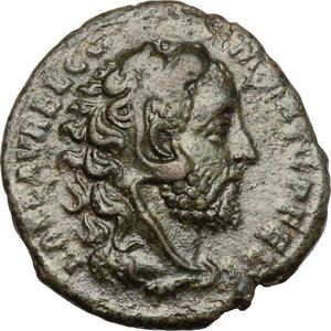 obverse: Commodus (177-192).. AE As, 192 AD