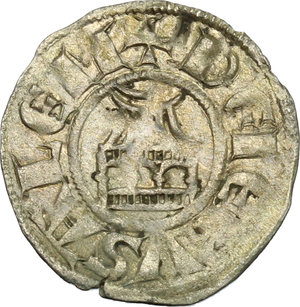 reverse: Jerusalem.  Amaury (1163-1174). BI Denier
