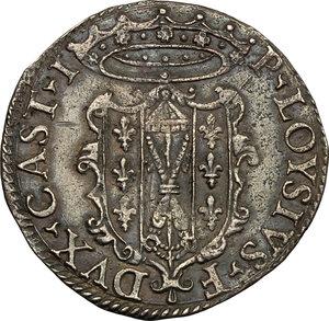 obverse: Castro.  Pierluigi Farnese (1545-1547). Paolo