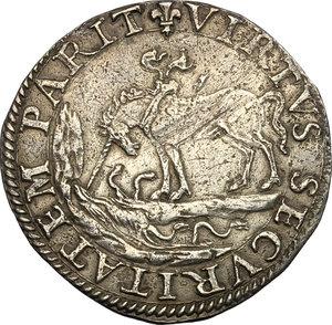 reverse: Castro.  Pierluigi Farnese (1545-1547). Paolo