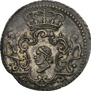 obverse: Corte (Corsica).  Pasquale Paoli (1762-1768), Generale. 4 soldi 1765