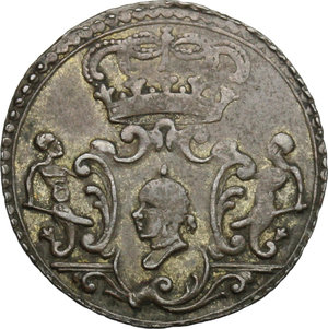 obverse: Corte (Corsica).  Pasquale Paoli (1762-1768), Generale. 2 soldi 1766
