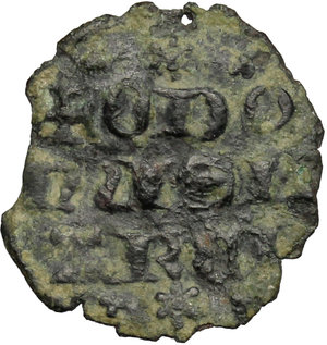 reverse: Cortemiglia.  Ottone III del Carretto (1284-1312), Marchese. Imperiale