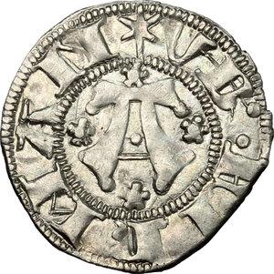 obverse: Fermo.  Ludovico Migliorati (1425-1428). Bolognino