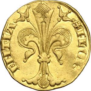 obverse: Firenze.  Repubblica (sec. XIII-1532).. Fiorino d oro stretto, IV serie, 1252-1303, maestro di zecca sconosciuto