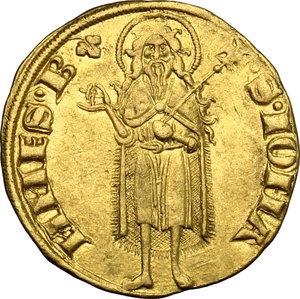 reverse: Firenze.  Repubblica (sec. XIII-1532).. Fiorino d oro stretto, IV serie, 1252-1303, maestro di zecca sconosciuto