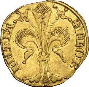 obverse: Firenze.  Repubblica (sec. XIII-1532).. Fiorino d oro stretto, IV serie, 1267-1303, maestro di zecca sconosciuto