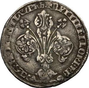 obverse: Firenze.  Repubblica (Sec. XIII-1532). Fiorino grosso da 30 denari o guelfo, 1318 I semestre, Dardano Acciaiuoli maestro di zecca