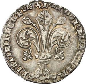 obverse: Firenze.  Repubblica (sec. XIII-1532).. Grosso da 5 soldi e 6 denari, 1405 I semestre, Bartolomeo di Giovanni Carducci maestro di zecca