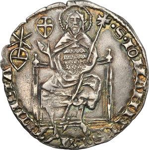 reverse: Firenze.  Repubblica (sec. XIII-1532).. Grosso da 5 soldi e 6 denari, 1405 I semestre, Bartolomeo di Giovanni Carducci maestro di zecca