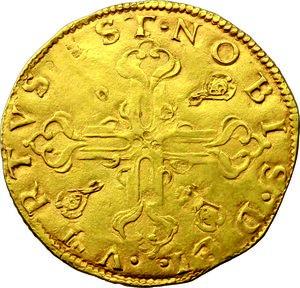 reverse: Firenze.  Alessandro de  Medici (1532-1537).. Scudo d oro