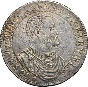 obverse: Firenze.  Cosimo I de  Medici (1537-1574). Piastra 1573