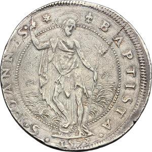 reverse: Firenze.  Cosimo I de  Medici (1537-1574). Piastra 1573